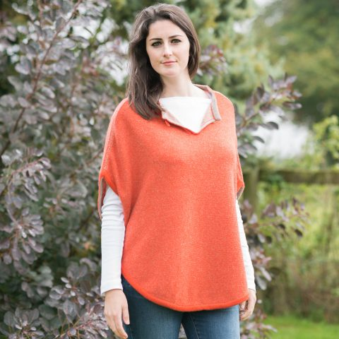 olivia-poncho-millet-and-terracotta-2