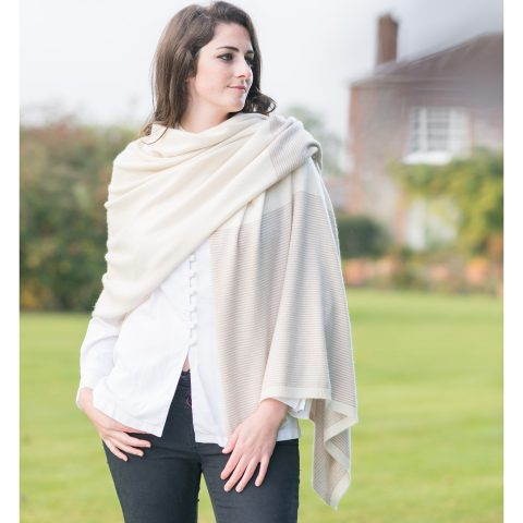 luxury cashmere wrap